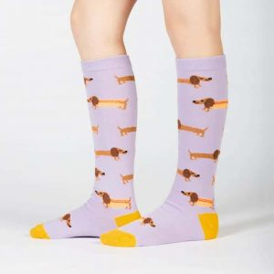 De söta knästrumporna för barn Hot Dogs av hög kvalitet från Sock It To Me köper du hos Define Me