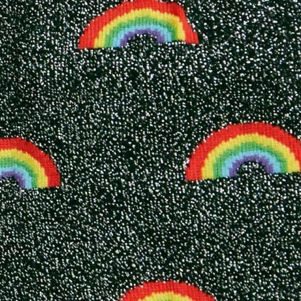 Damstrumpor med glitter och färgglada mönster köper du online hos Define Me!