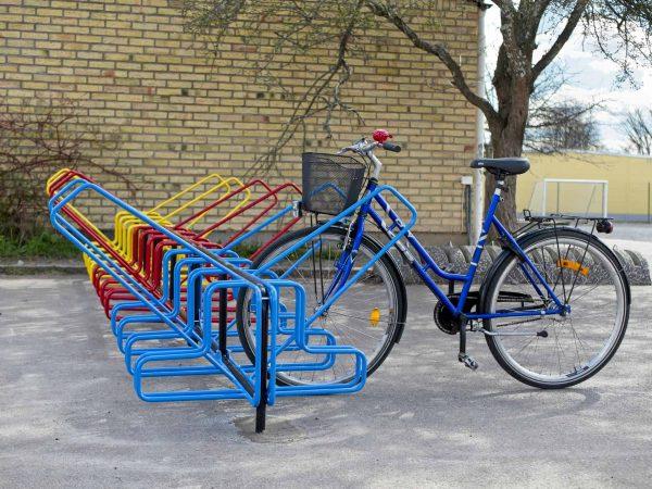 Cykelställ Skola1