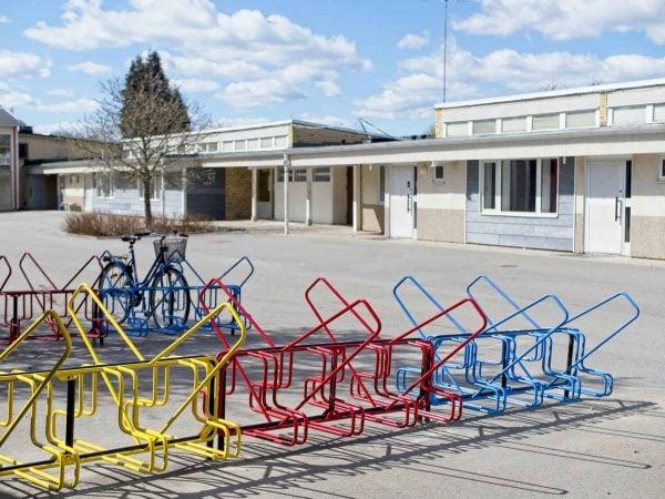 Cykelställ Skola