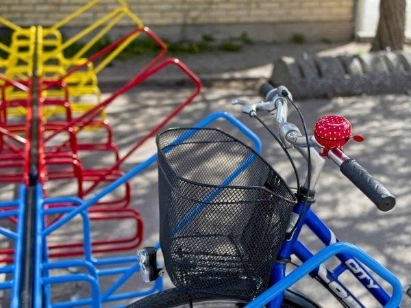 Cykelställ Skola3